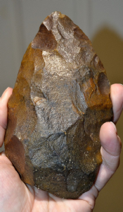 A large, superb and attractive Mid-Late Paleolithic